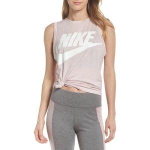 Nike Pink Sportswear Essential Women's Tank